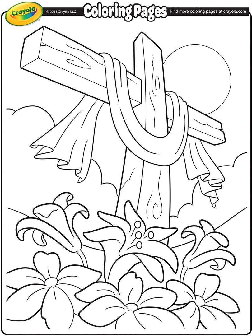 Easter Lily Coloring Page - Part 7