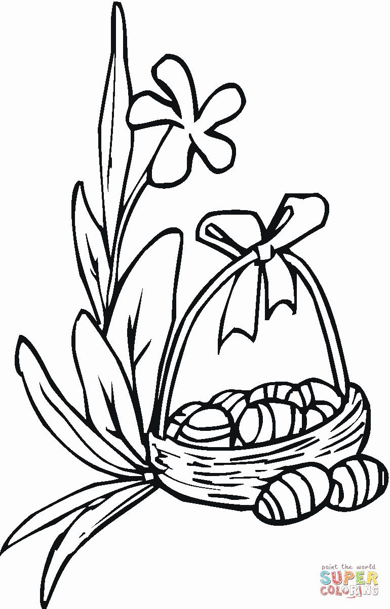Easter Lily Coloring Page 38