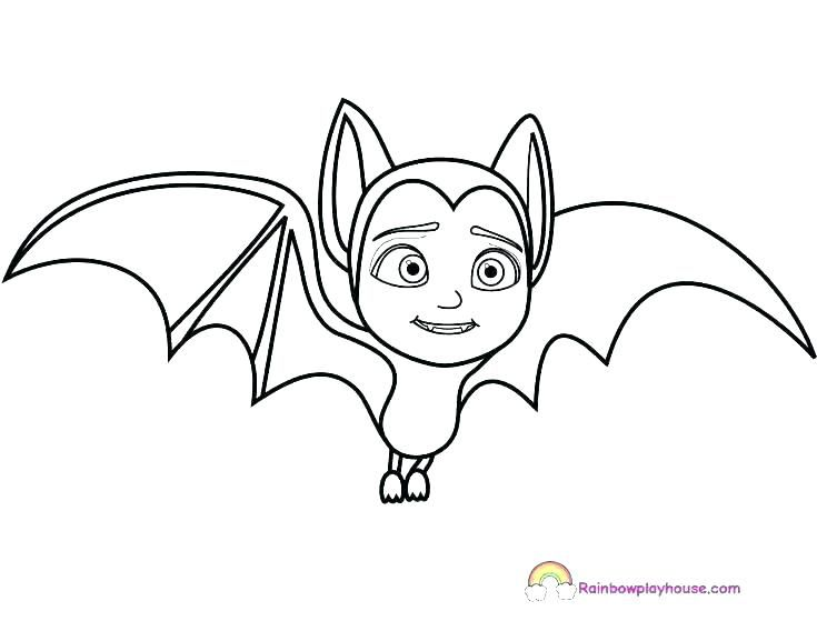 Halloween Coloring Pages Bats 10