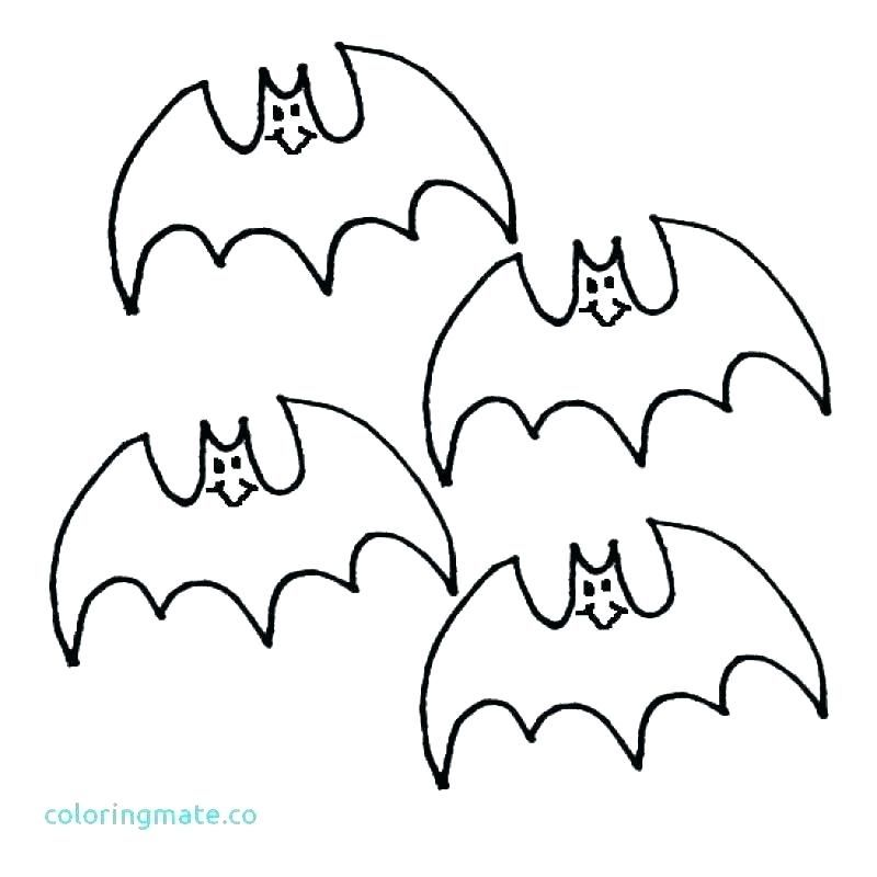 Halloween Coloring Pages Bats 12