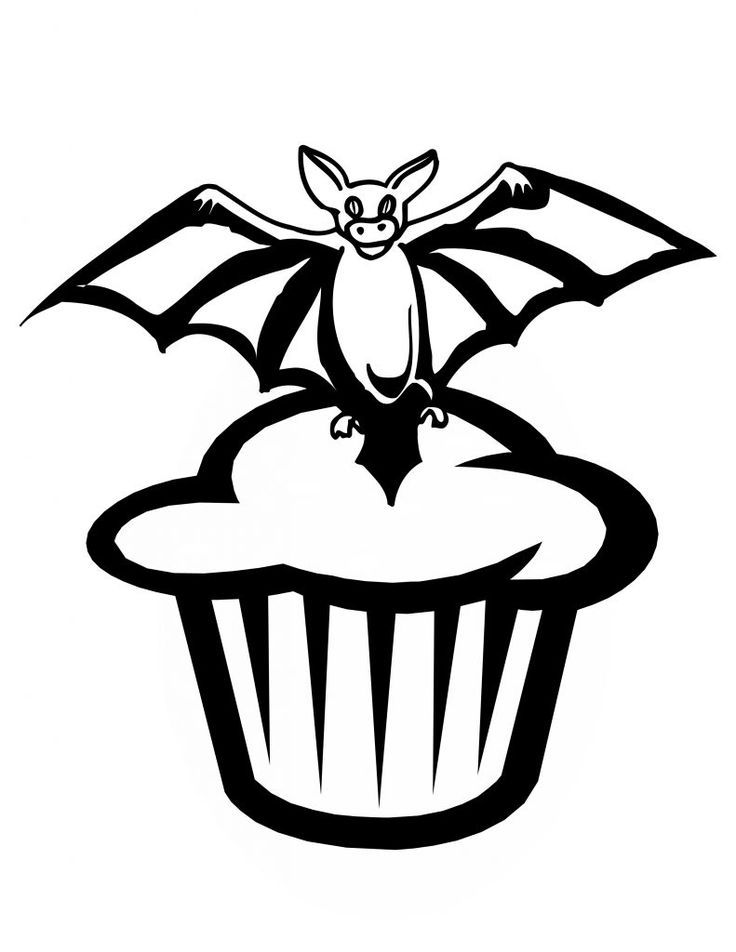 Halloween Coloring Pages Bats 15