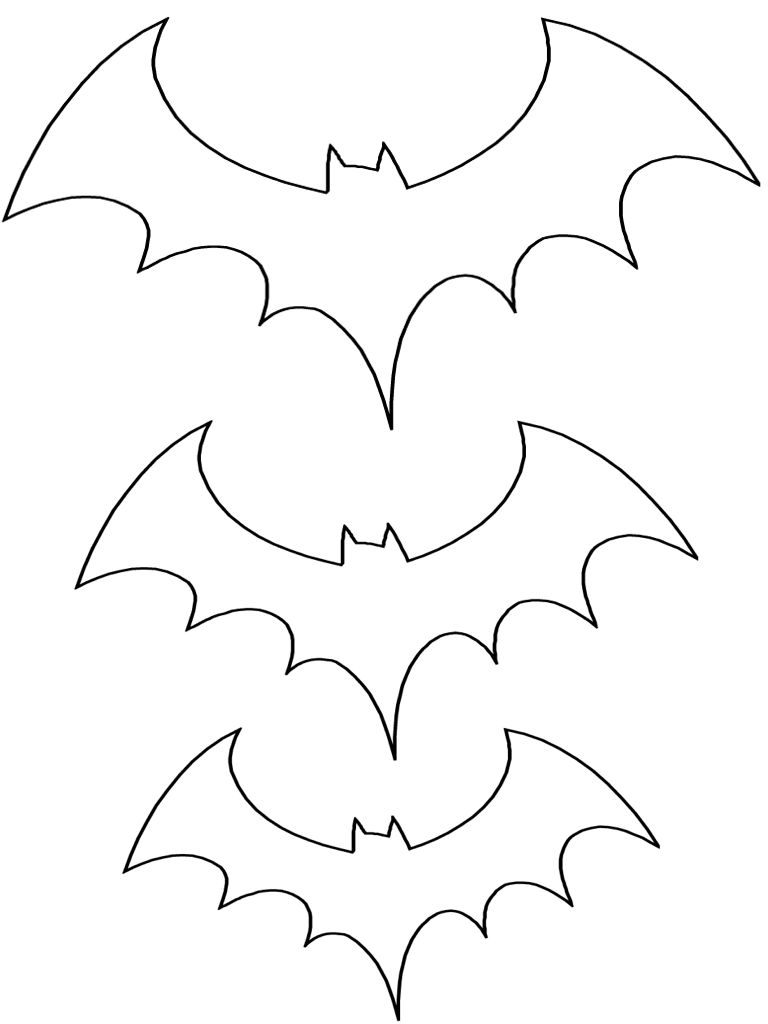 Halloween Coloring Pages Bats 17