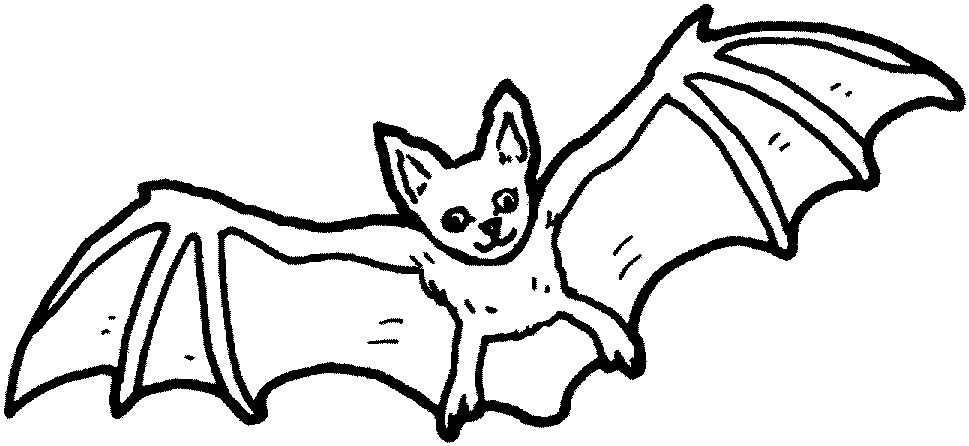 Halloween Coloring Pages Bats 20