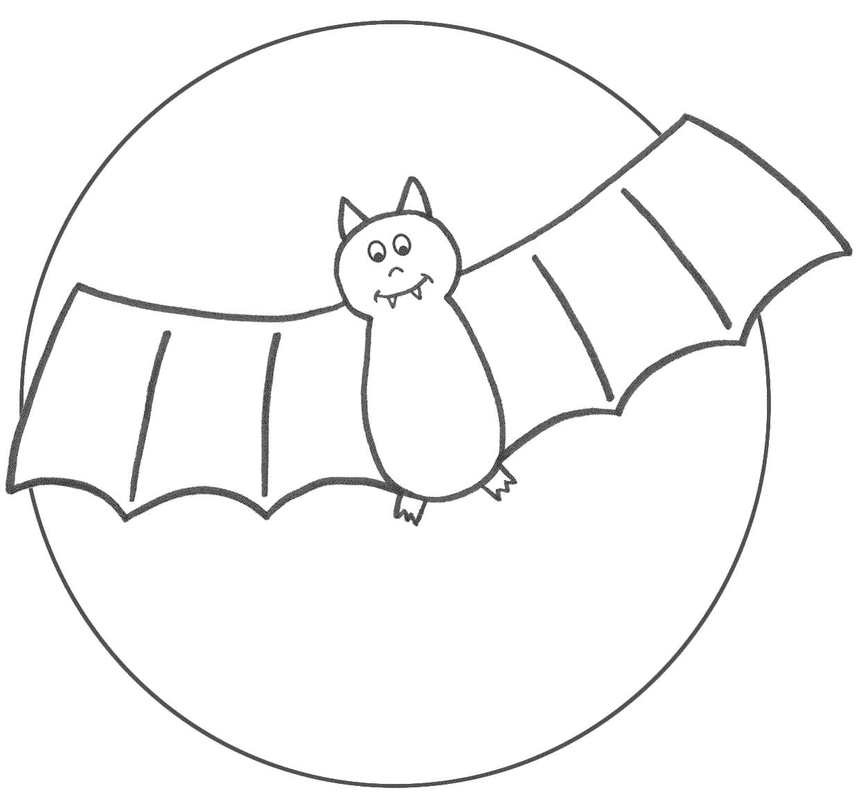 Halloween Coloring Pages Bats 3