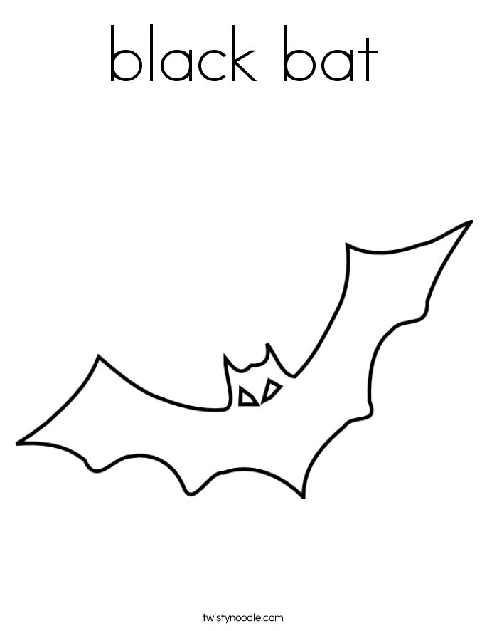 Halloween Coloring Pages Bats 30