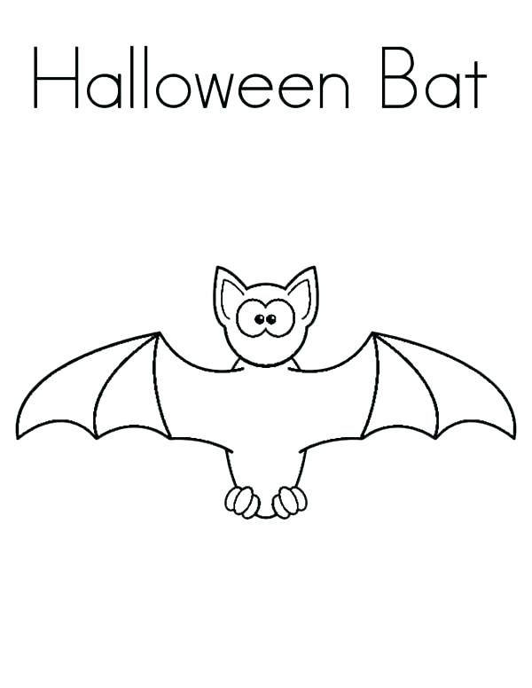 Halloween Coloring Pages Bats 36