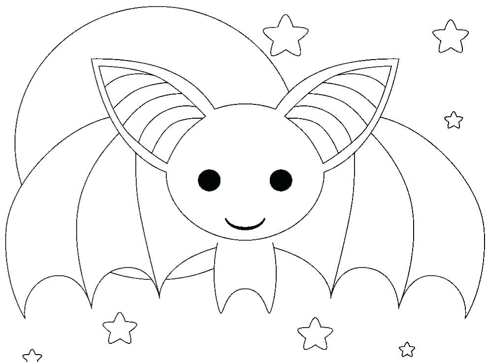 Halloween Coloring Pages Bats 39