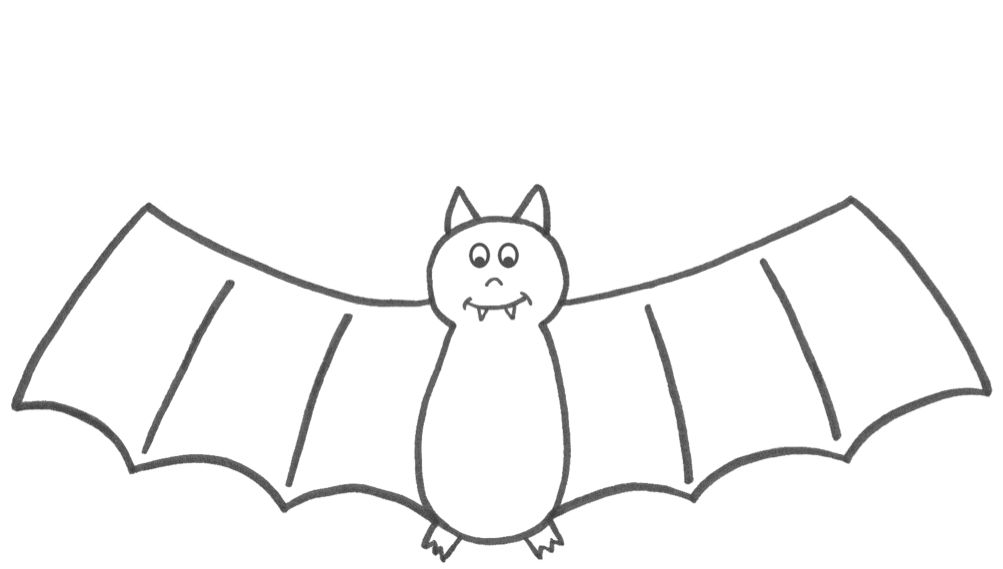 Halloween Coloring Pages Bats 45