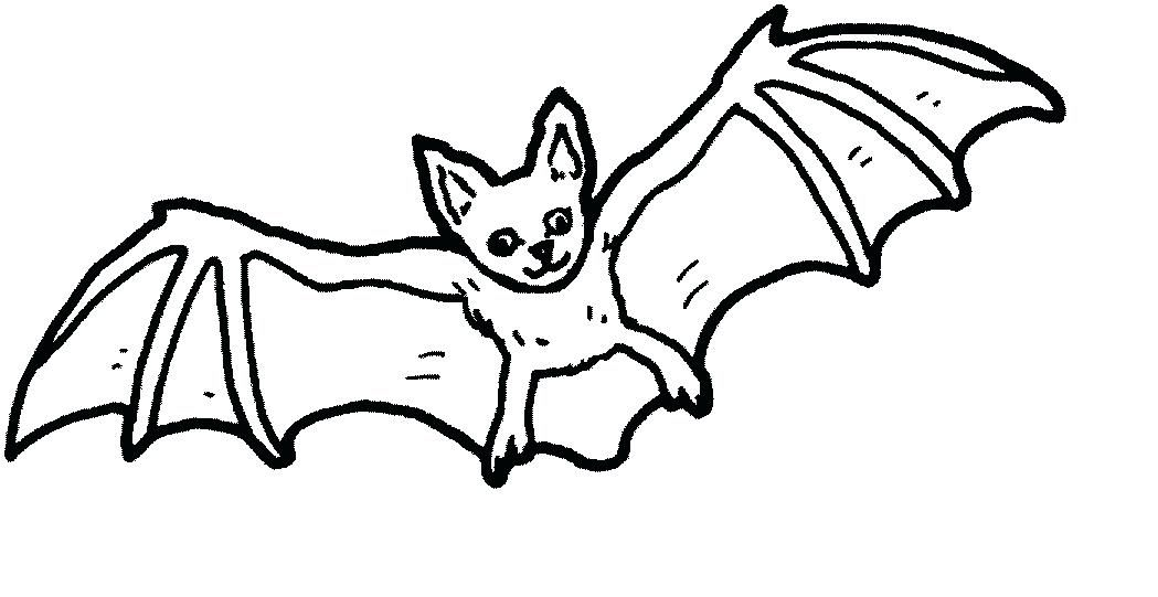 Halloween Coloring Pages Bats 9