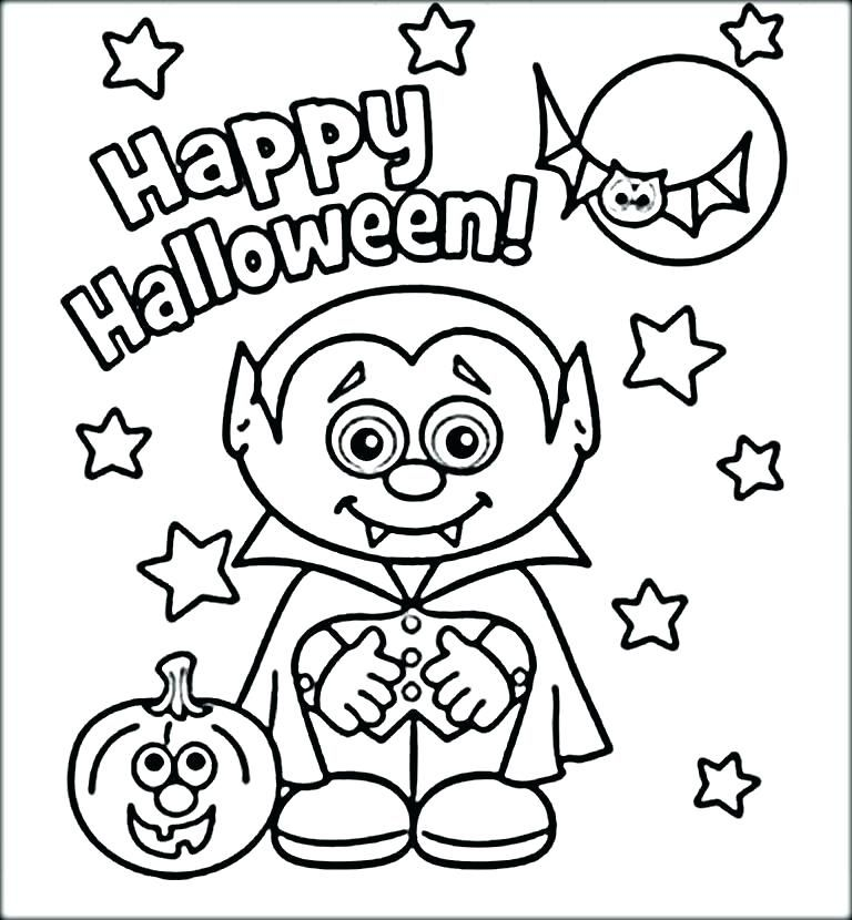 Halloween Coloring Pages Vampire 10