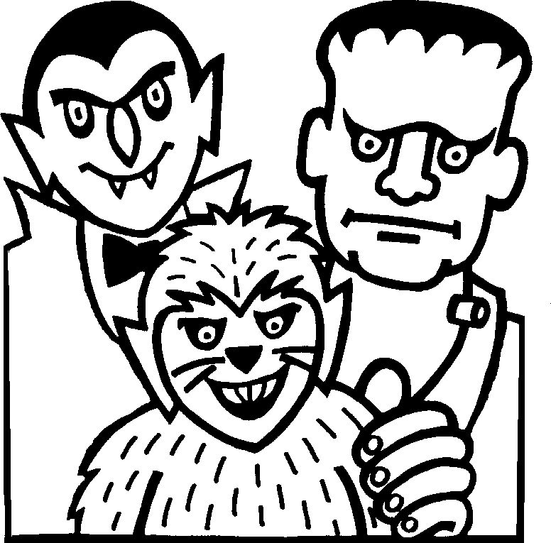 Halloween Coloring Pages Vampire 15