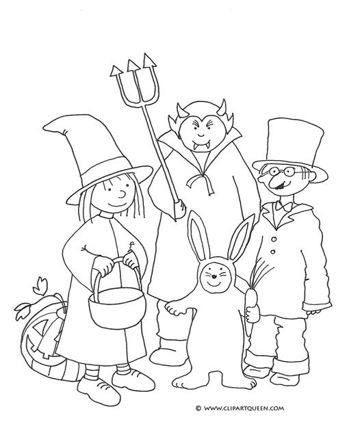 Halloween Coloring Pages Vampire 18