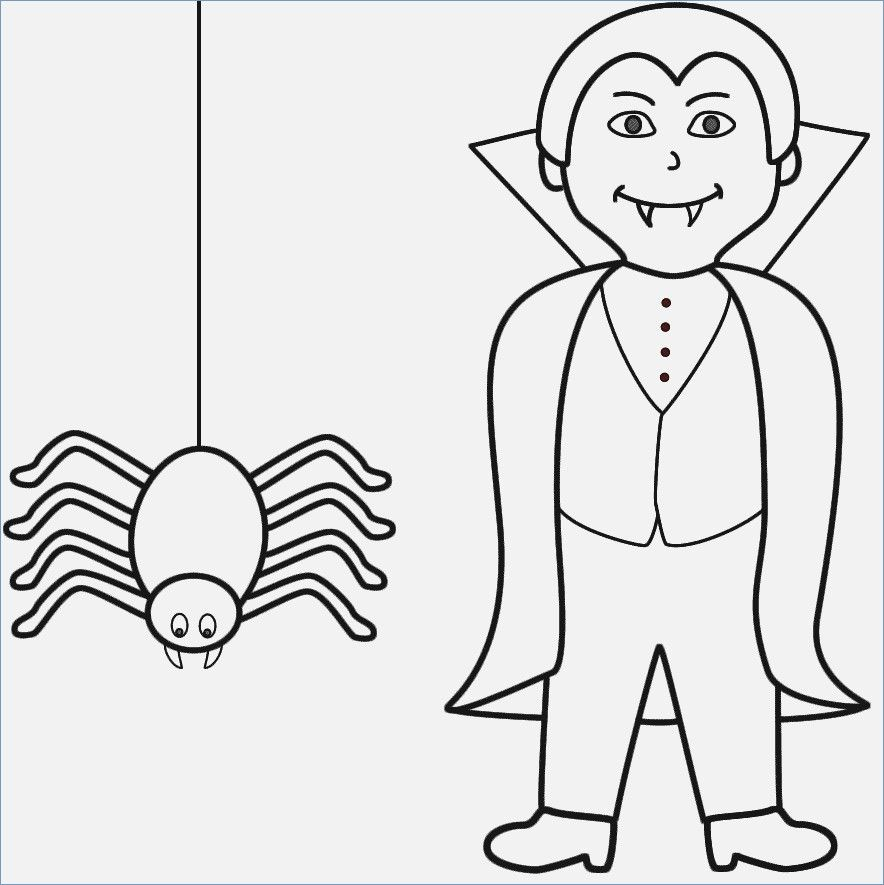 Halloween Coloring Pages Vampire 21