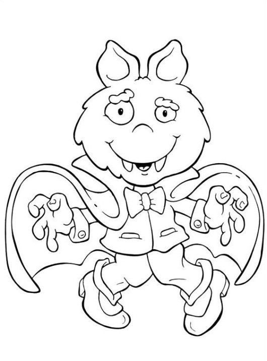 Halloween Coloring Pages Vampire 23