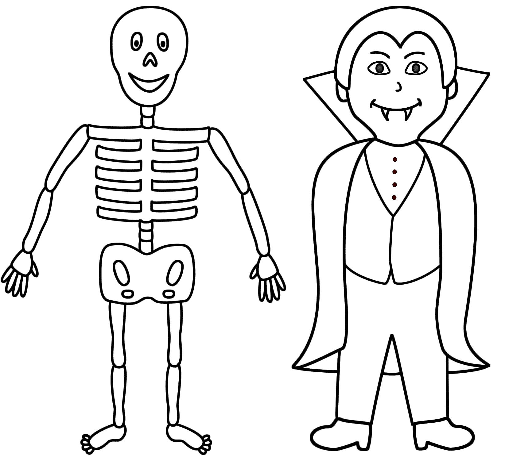 Halloween Coloring Pages Vampire 24