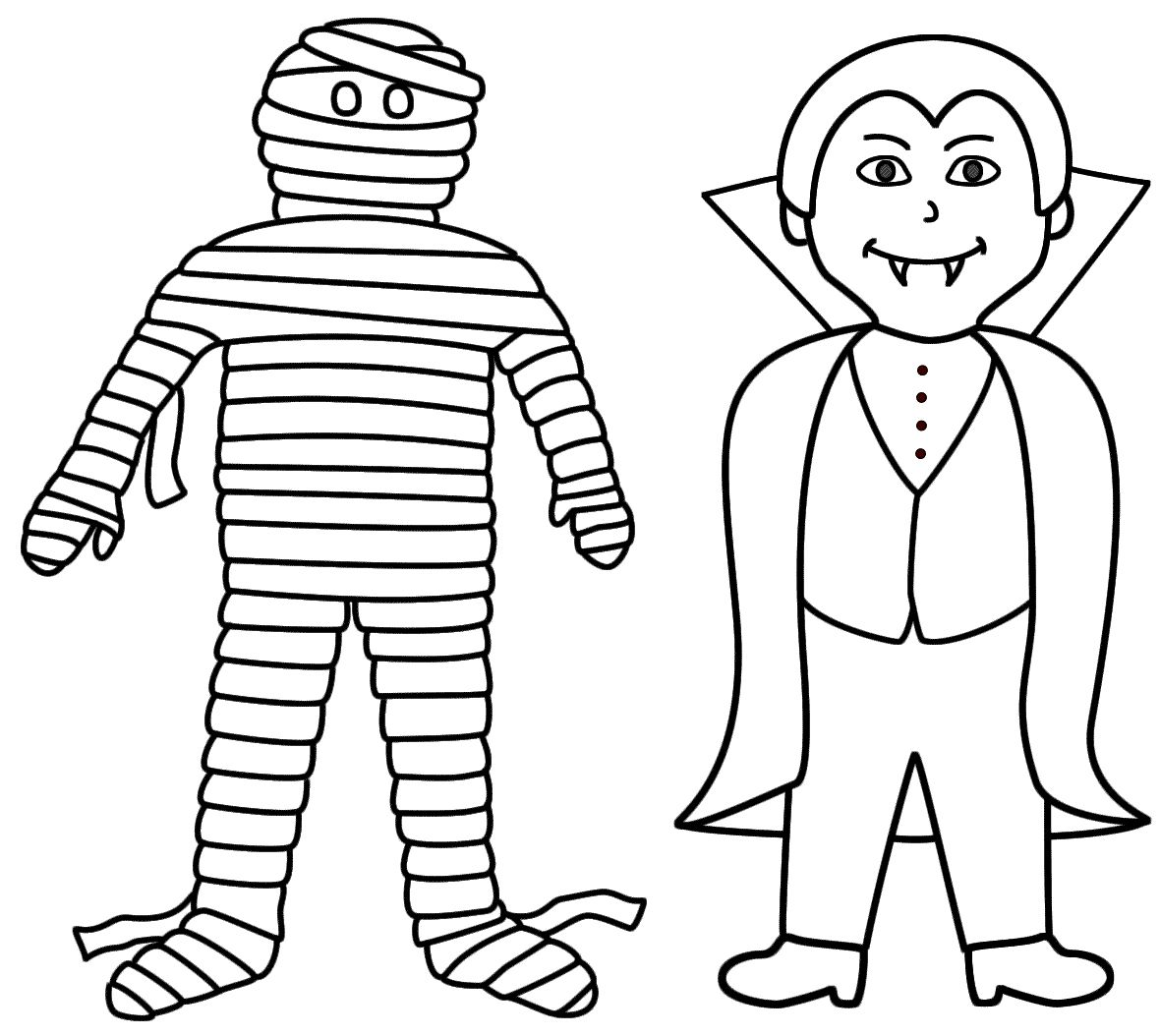 Halloween Coloring Pages Vampire 27