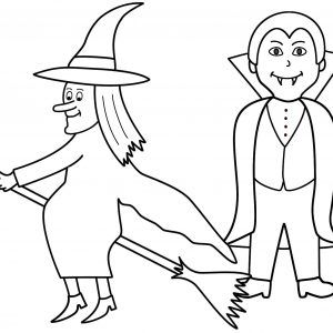 Halloween Coloring Pages Vampire 33