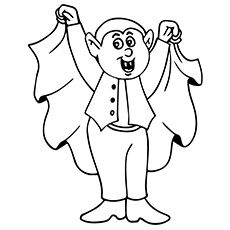 Halloween Coloring Pages Vampire 39