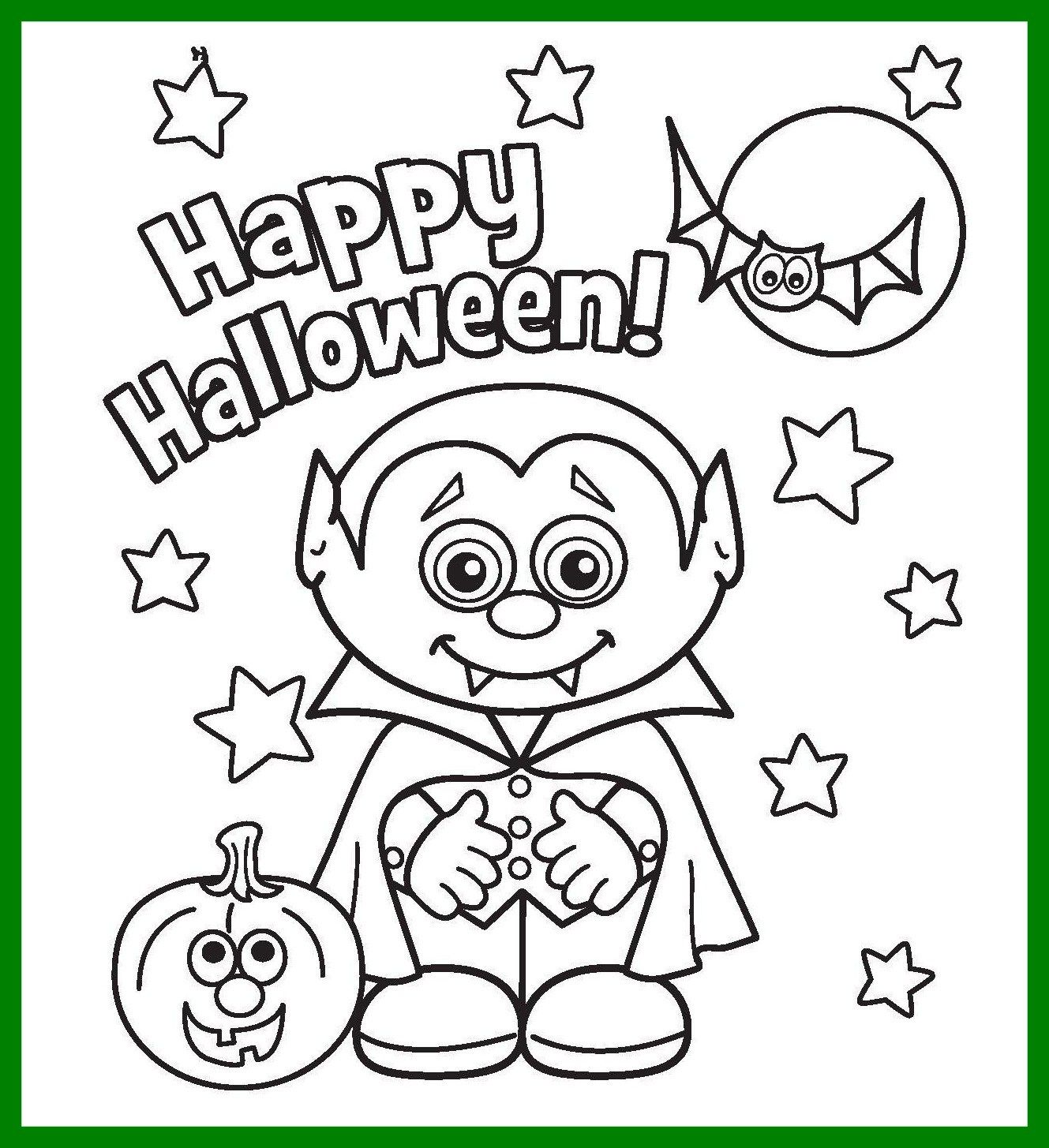 Halloween Coloring Pages Vampire 4