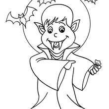 Halloween Coloring Pages Vampire 40