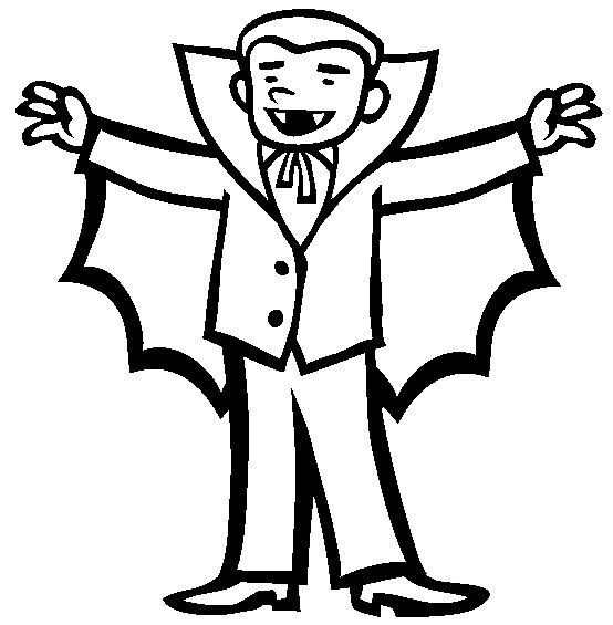 Halloween Coloring Pages Vampire 41