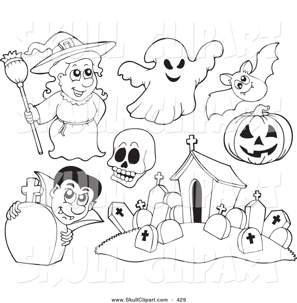 Halloween Coloring Pages Vampire 42