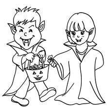 Halloween Coloring Pages Vampire 44