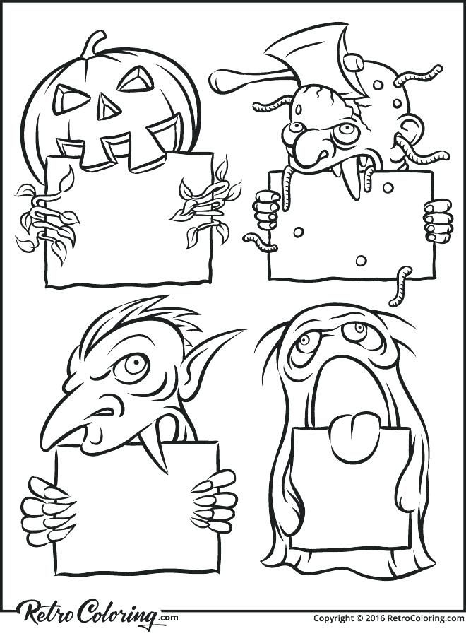 Halloween Coloring Pages Vampire 8