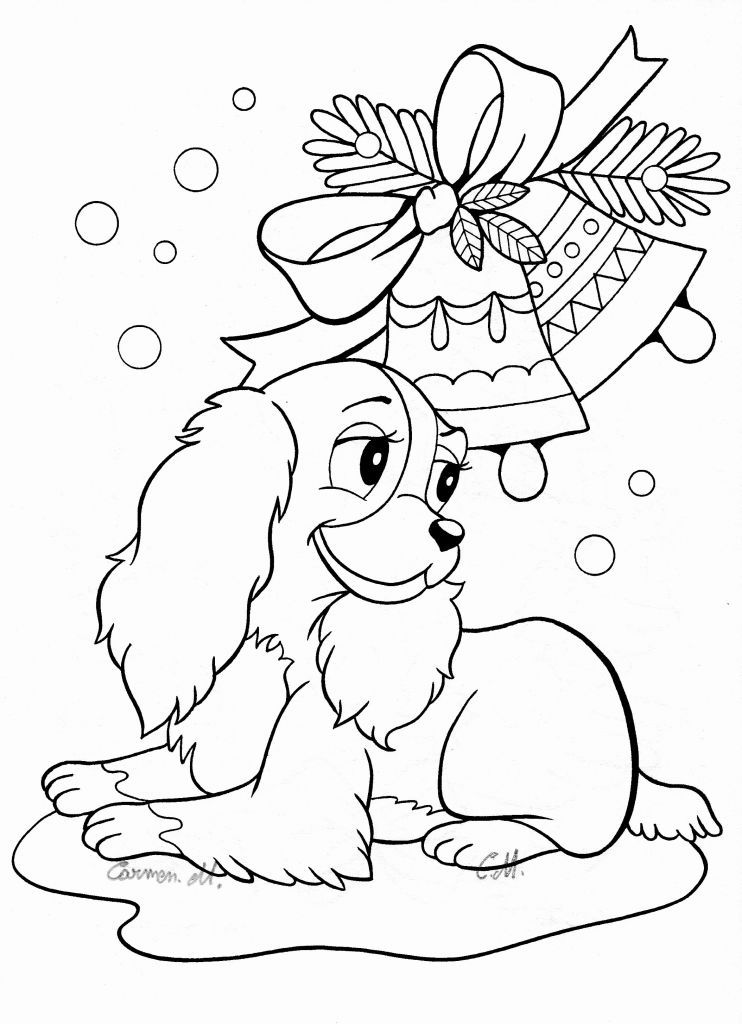 Halloween Dog Coloring Pages 21