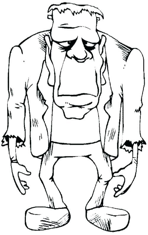 Halloween Frankenstein Coloring Pages 23