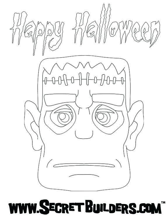 Halloween Frankenstein Coloring Pages 26