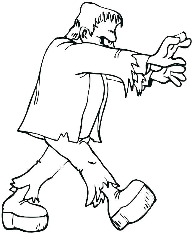 Halloween Frankenstein Coloring Pages 34