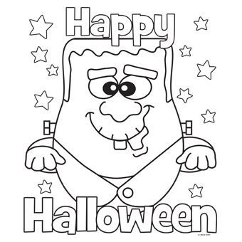 Halloween Frankenstein Coloring Pages 42