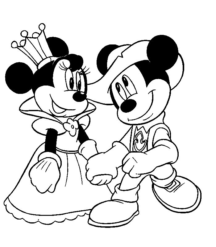 Minnie Mouse Easter Coloring Pages 16