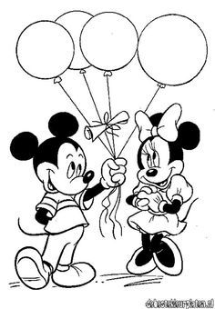 Minnie Mouse Easter Coloring Pages 4